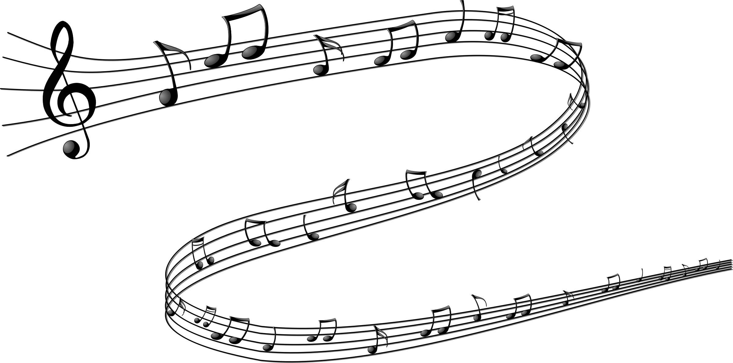 PNG HD Musical Notes Symbols - 131631