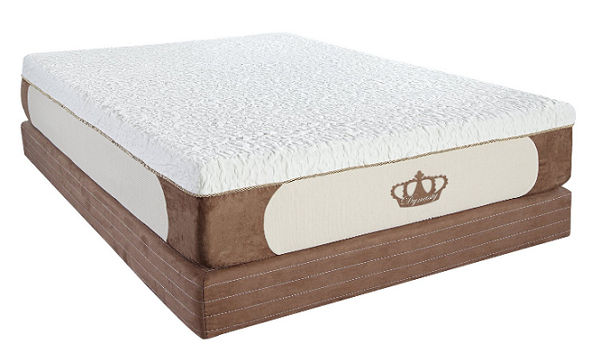 14-Inch Grand Cool Breeze HD GEL Memory Foam Mattress - PNG HD Of A Bed