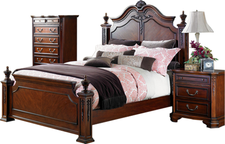 Bed Room Furniture Free Download PNG - PNG HD Of A Bed