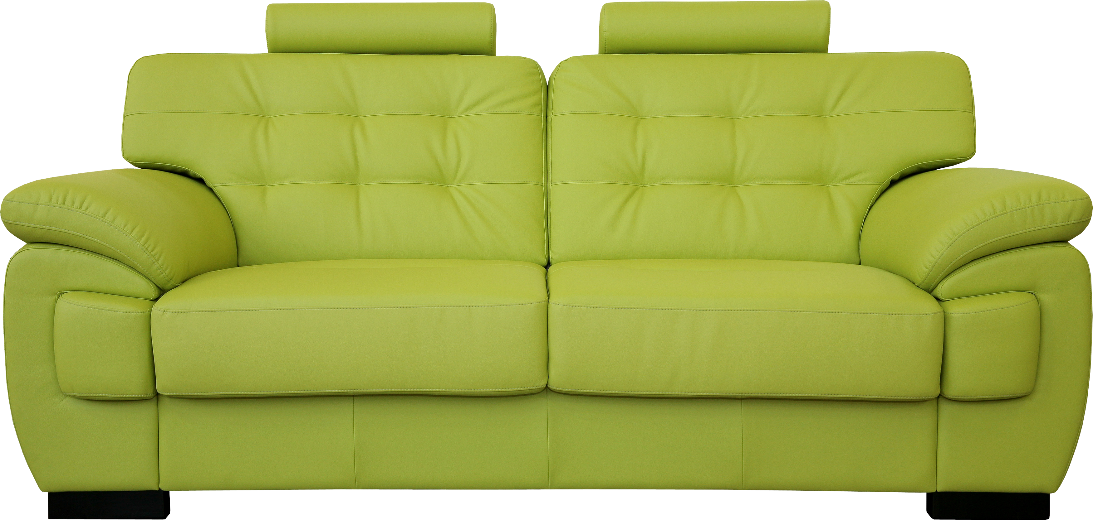 Green sofa PNG image - PNG HD Of A Bed