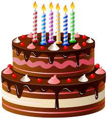 Birthday Cake Clip Art #2949312 - PNG HD Of A Birthday Cake