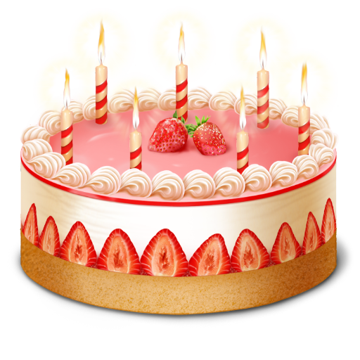 birthday, cake icon. Download PNG - PNG HD Of A Birthday Cake