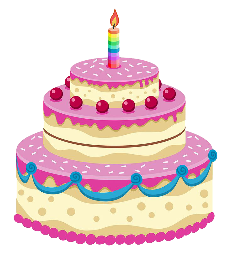Birthday Cake PNG Image - PNG HD Of A Birthday Cake