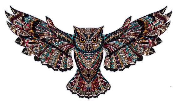 Owl Metallizer Art Glass Factory Owl Owl O - PNG HD Of An Owl