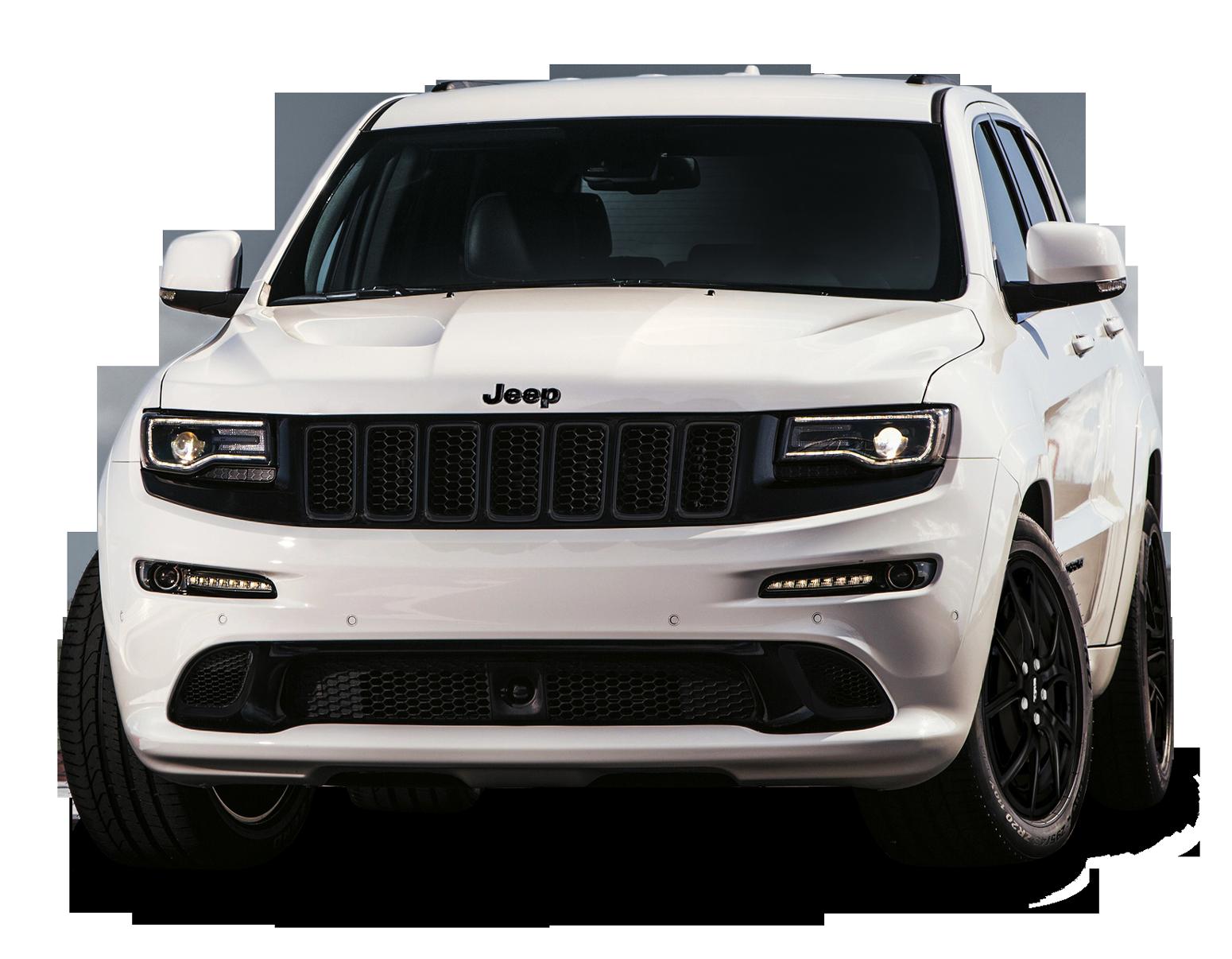 Jeep Grand Cherokee SRT White Car PNG Image - Car HD PNG - PNG HD Of Car