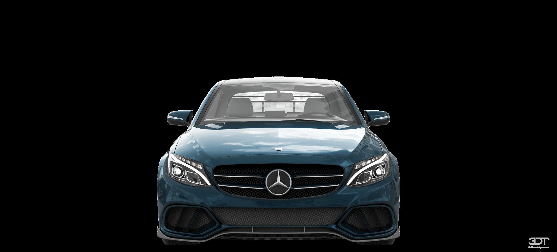 . PlusPng.com Mercedes C Class HD Sedan 2016 Tuning PlusPng.com  - PNG HD Of Car