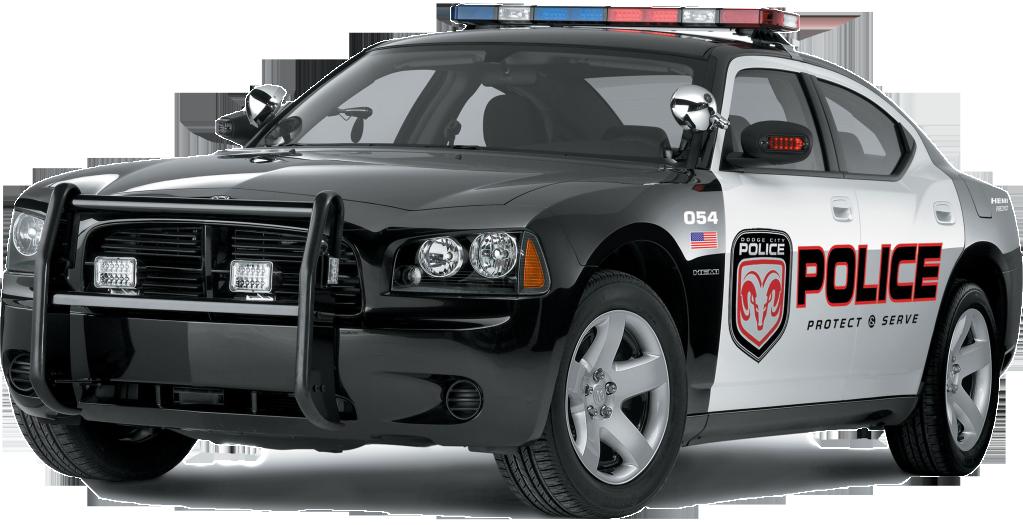 Police Car - PNG HD Of Car
