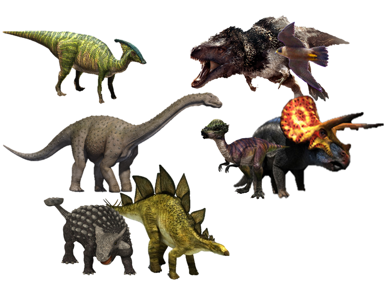 Dinosaurs.png - PNG HD Of Dinosaurs