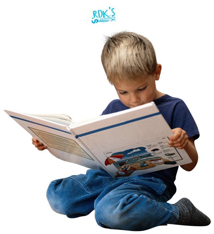 Child Reading Book Photo by RDK--RENDERS | Photobucket - PNG HD Of Kids Reading