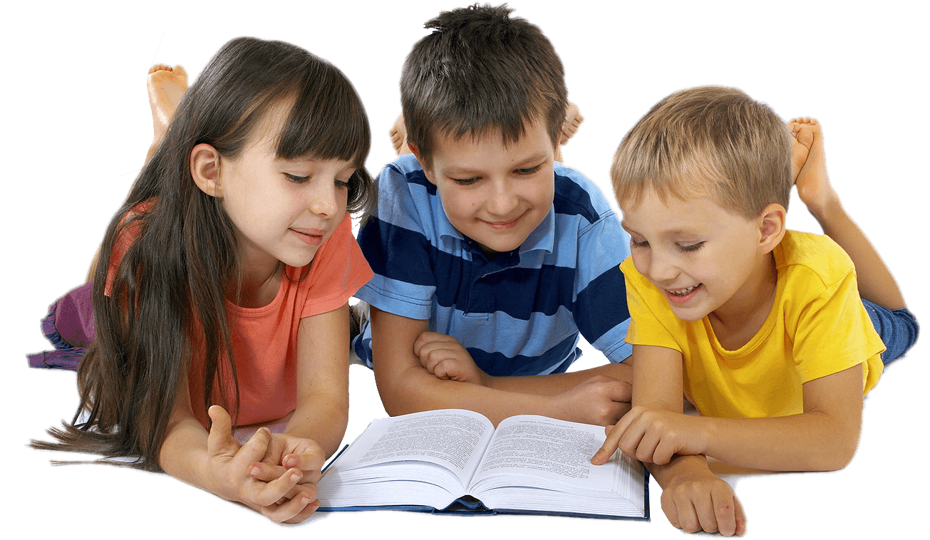PNG HD Of Kids Reading - 131568