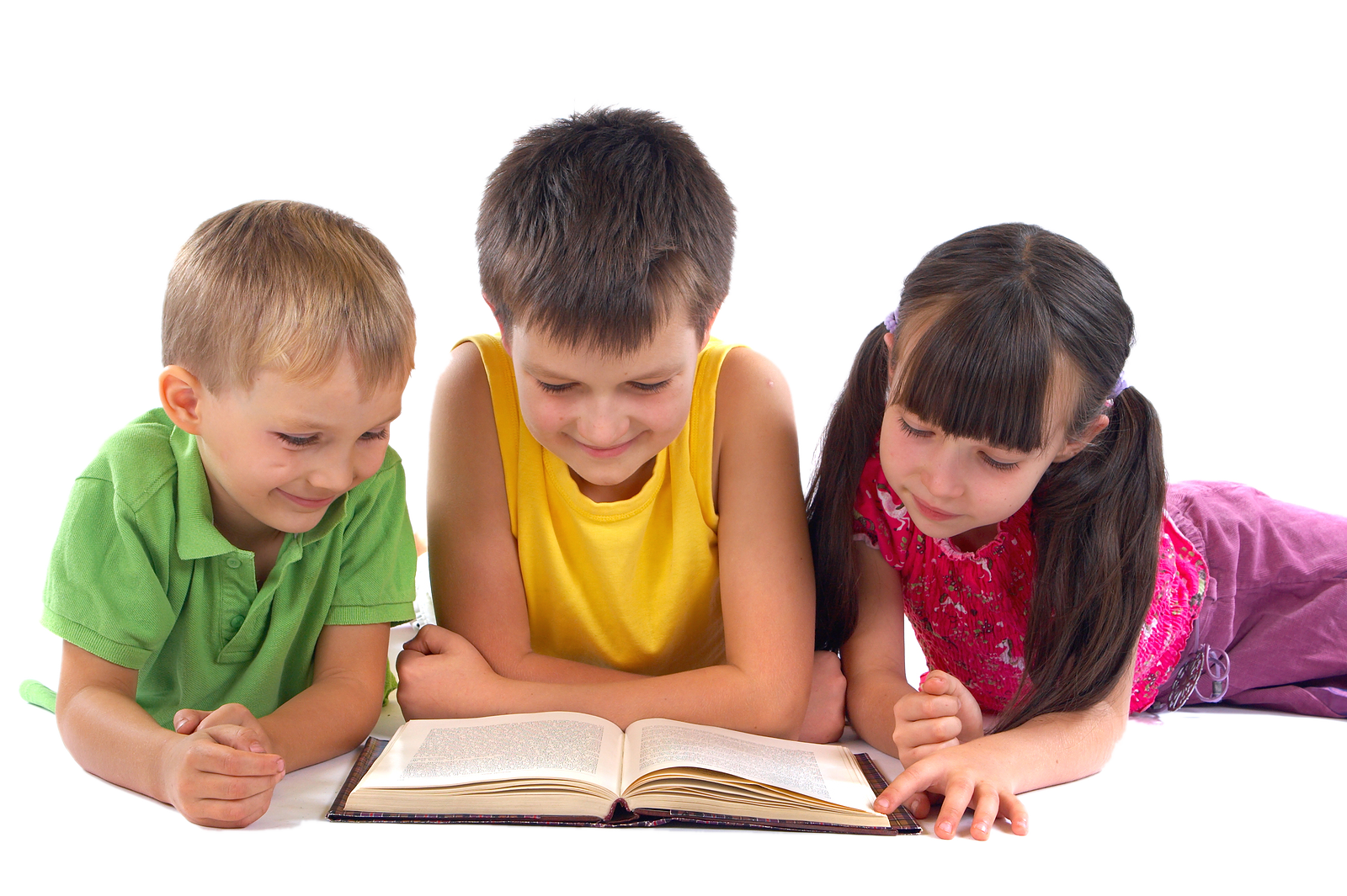 PNG HD Of Kids Reading - 131567