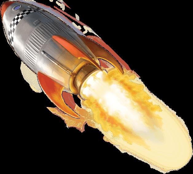PNG HD Of Rockets - 123668
