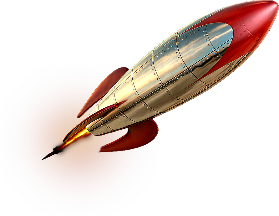 PNG HD Of Rockets - 123674