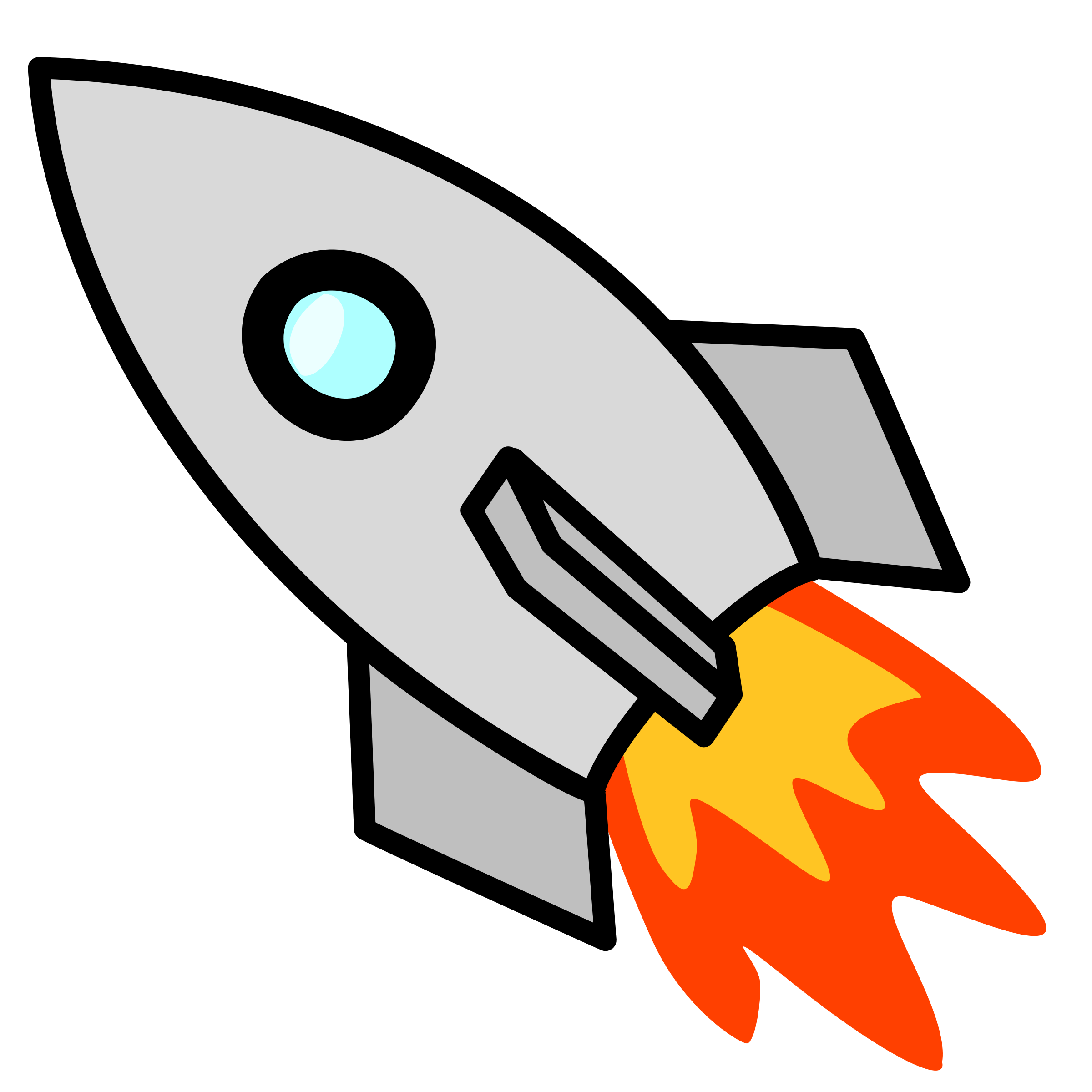 Space Rocket Clipart Background 1 HD Wallpapers | lzamgs. - PNG HD Of Rockets