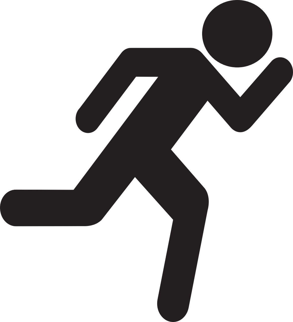 File:Runner stickman.png - PNG HD Of Stick Figures