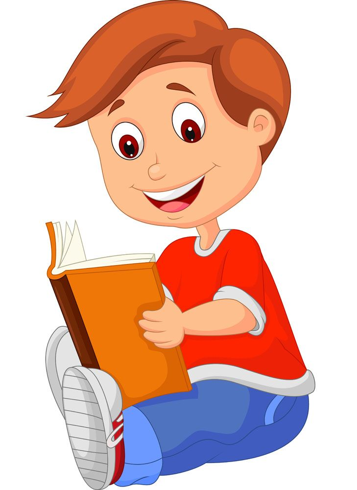 Course clipart two student #3 - PNG HD Of Students Reading