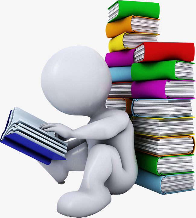 HD reading, Read, Book, Png F