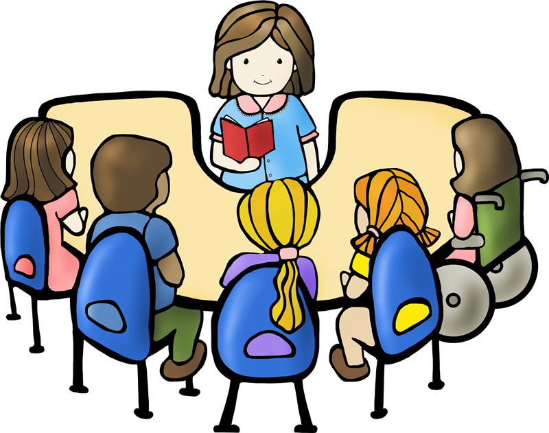 Reading Group Cliparts | Free Download Clip Art | Free Clip Art with Reading  Group Clipart - PNG HD Of Students Reading