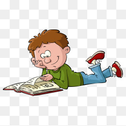 Vector boy reading, Vector Character, Character, People Illustration PNG  and Vector - PNG HD Of Students Reading