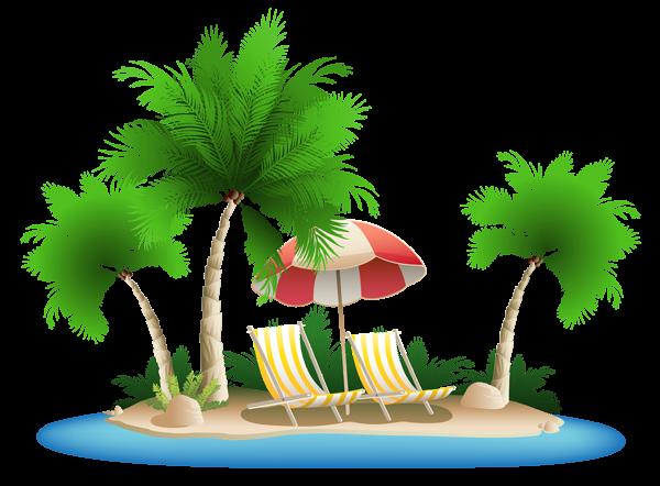 PNG HD Palm Tree Beach - 141593