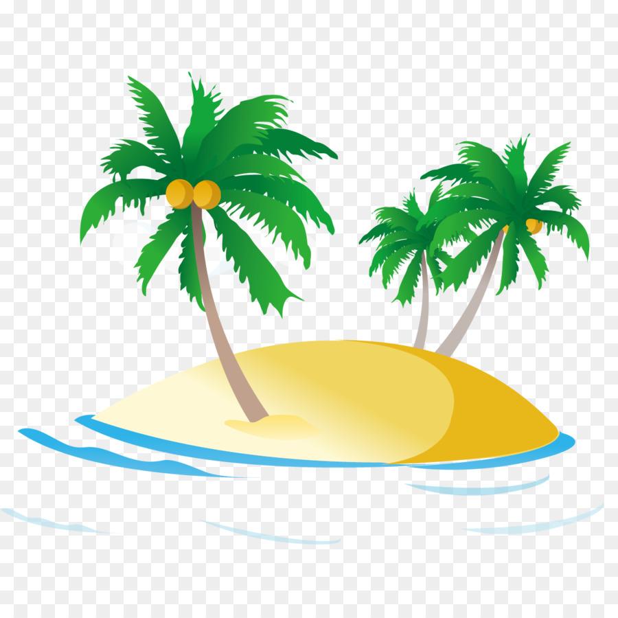 PNG HD Palm Tree Beach - 141592