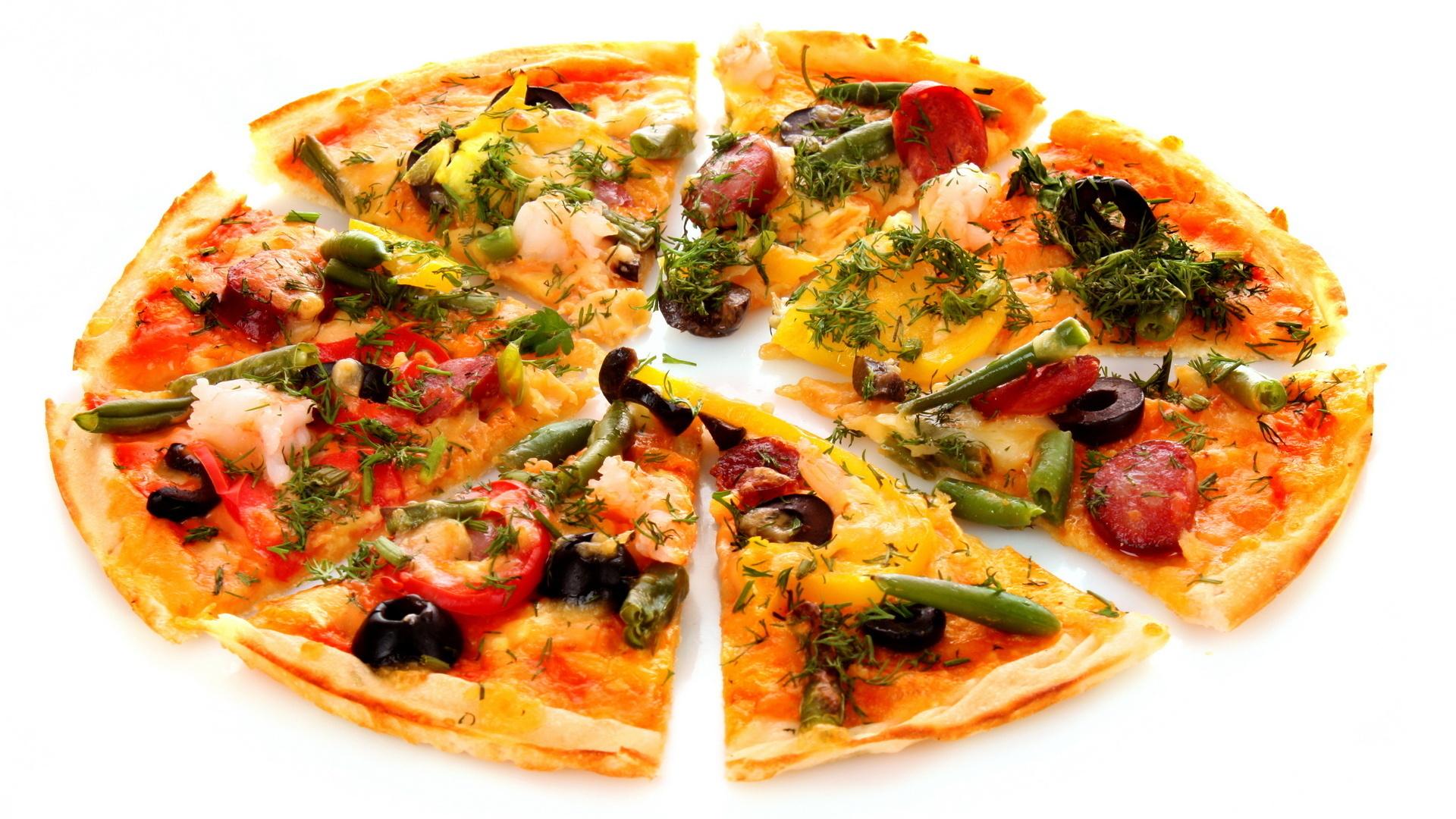 Pizza HD Wallpaper - PNG HD Pizza