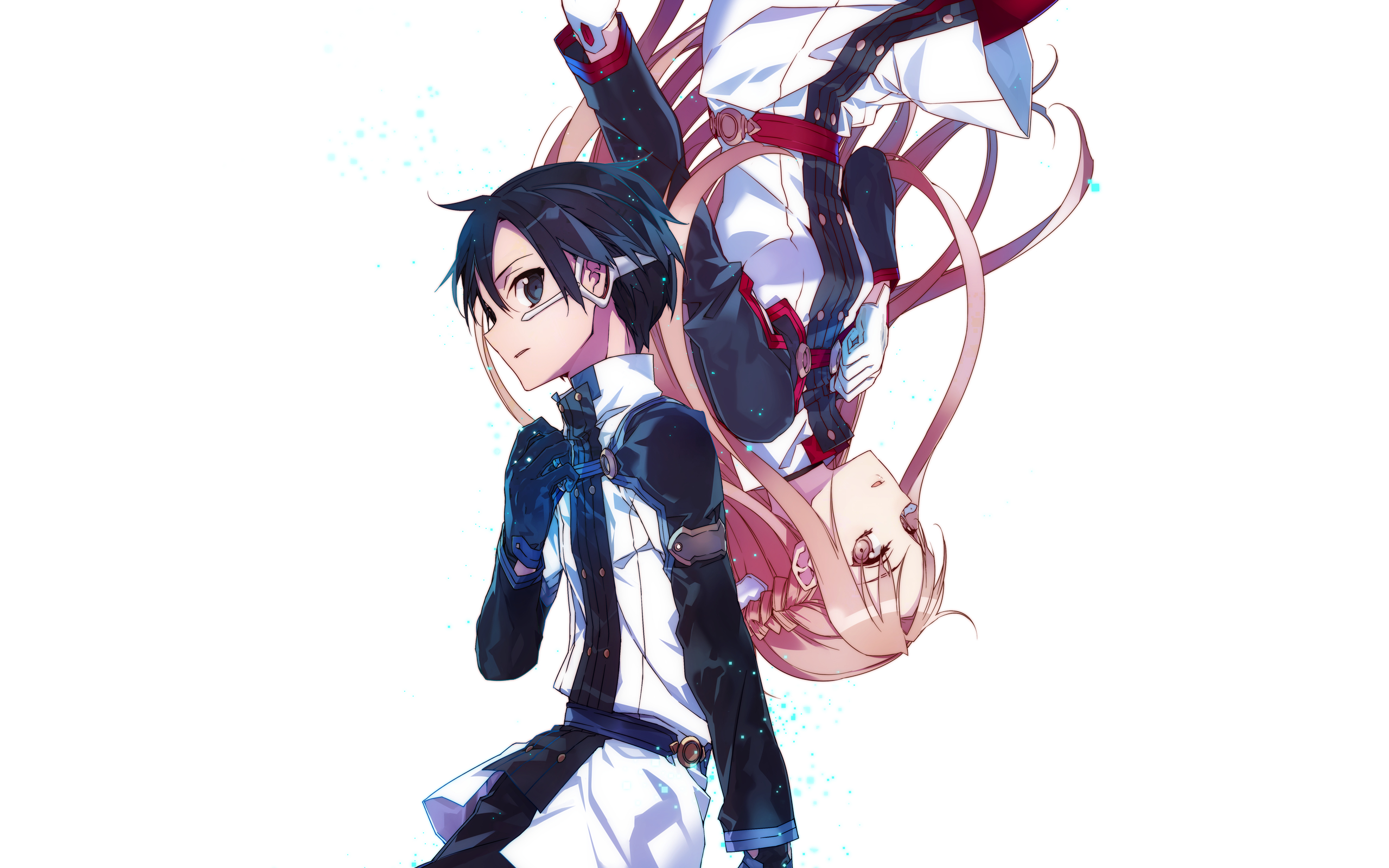 Anime - Sword Art Online Movie: Ordinal Scale Asuna Yuuki Kirito (Sword Art  Online - PNG HD Scale