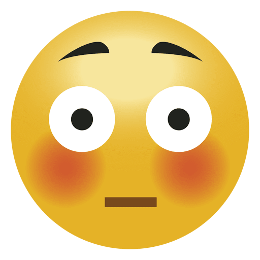 Shock surprised emoji emoticon - PNG HD Shocked Face