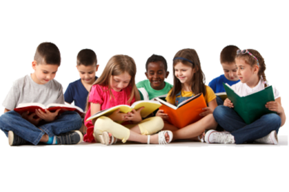 Students Learning Transparent Background - PNG HD Student Reading