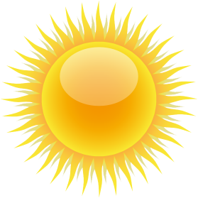 PNG HD Sun With Sunglasses - 152722