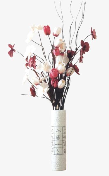Flower Vase, Pink Flowers, Plant, Vase PNG Image And Clipart - PNG HD Vase Of Flowers