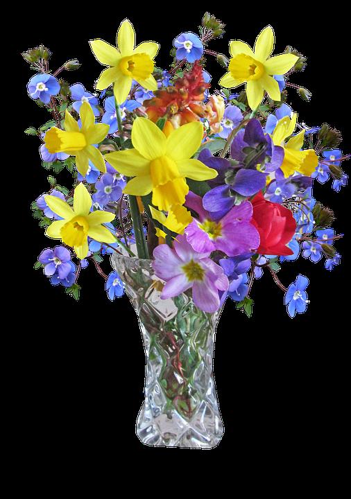 PNG HD Vase Of Flowers - 147207