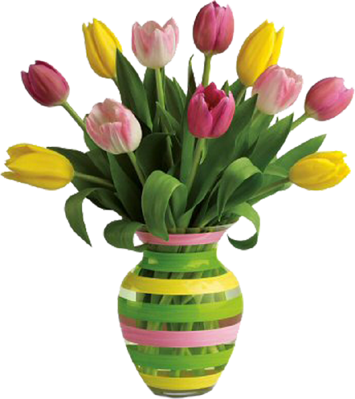 PNG HD Vase Of Flowers - 147201