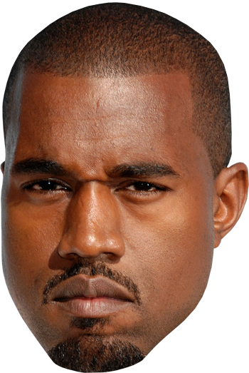 Angry Floating Kanye Head by plantkits PlusPng.com  - PNG Head