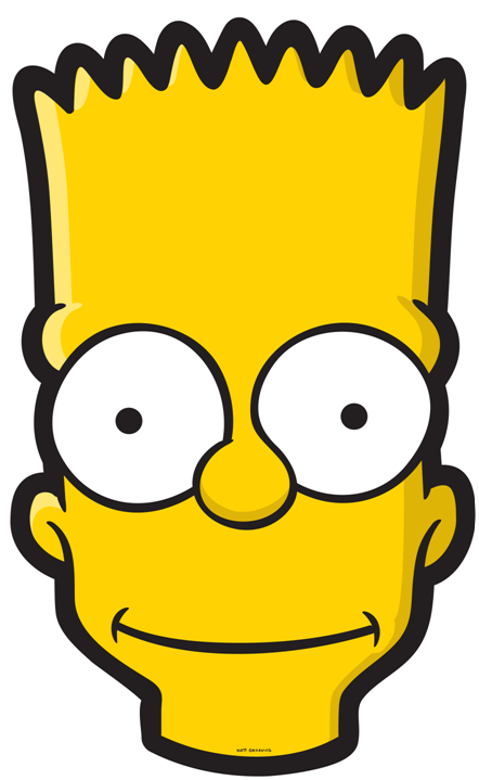 Bart Simpson Head.PNG - PNG Head
