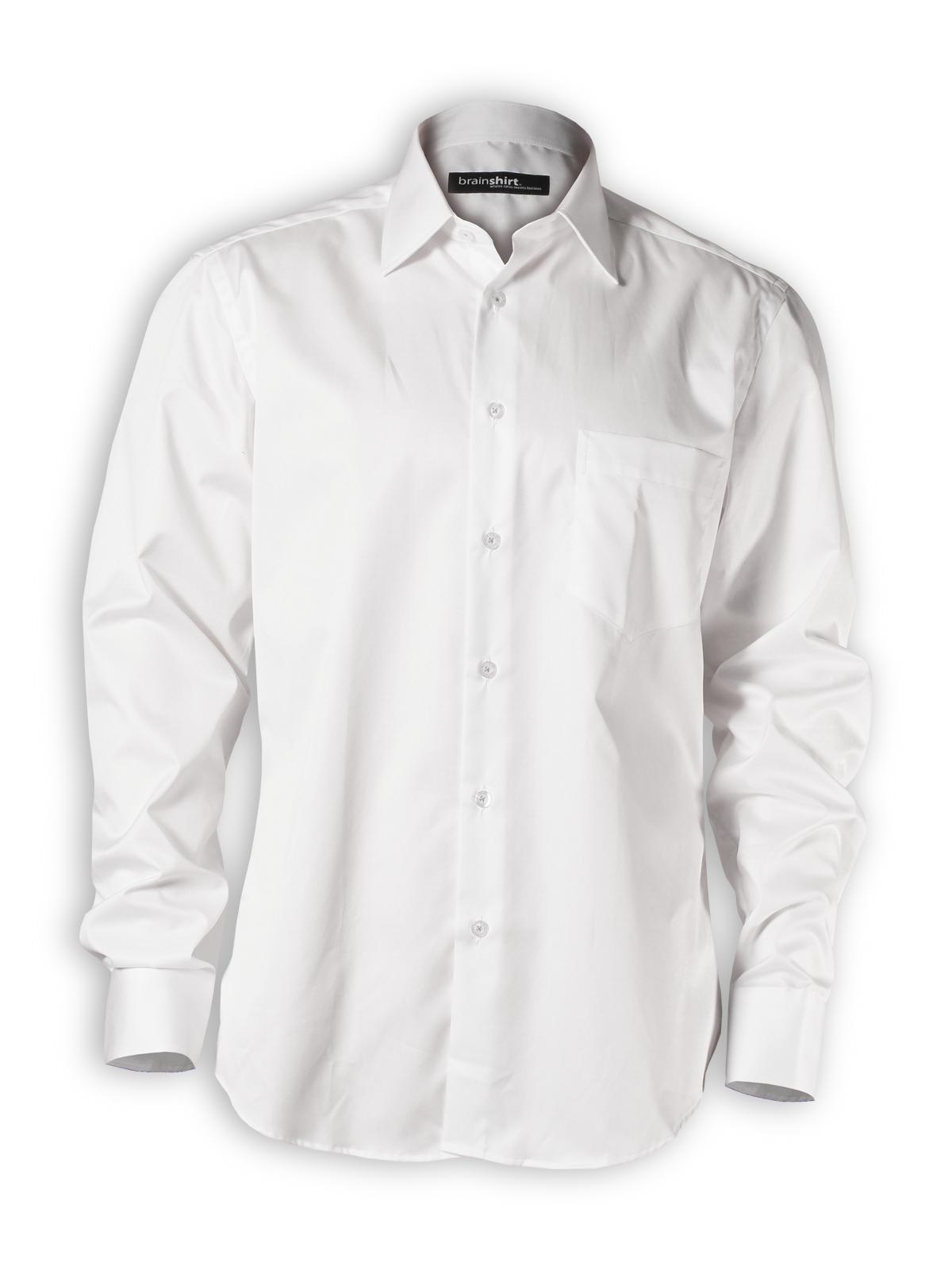 Hemd Arctic Ice von brainshirt in weiß - PNG Hemd