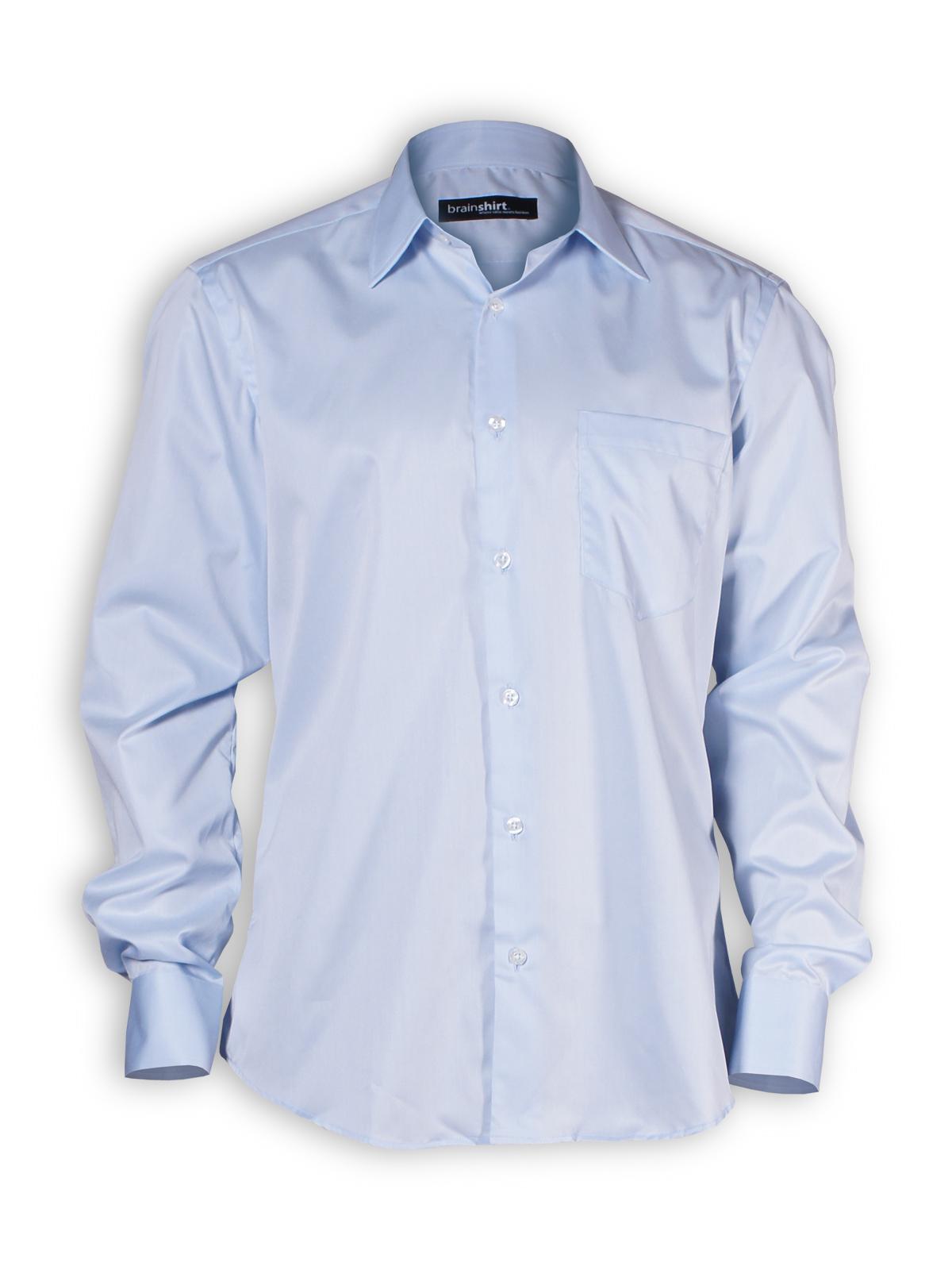 Hemd Blue Sky von brainshirt in blau - PNG Hemd