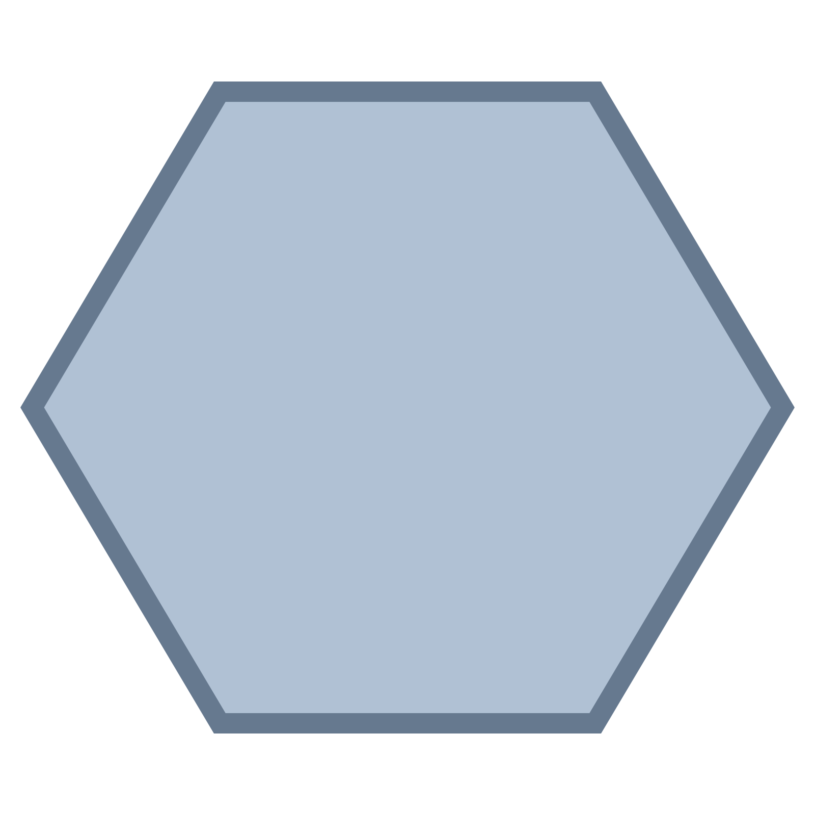 PNG Hexagon Shape - 53353