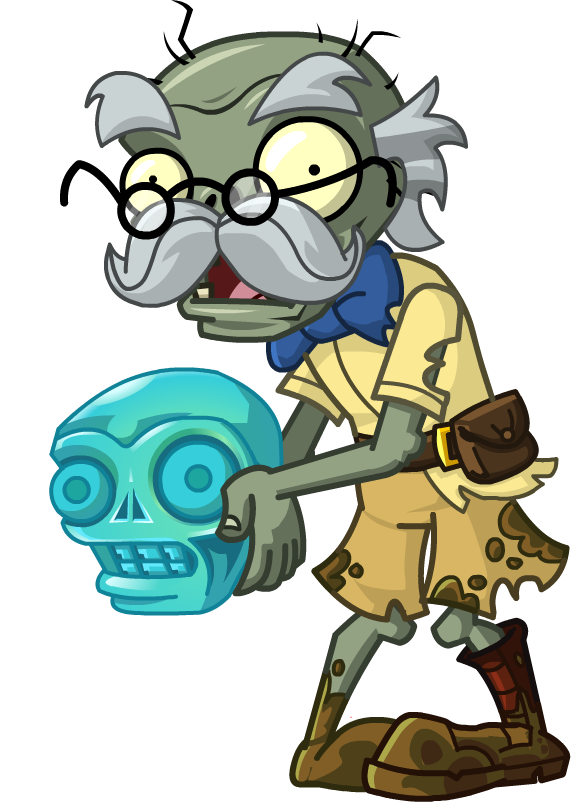 Historian Zombie - PNG Historian