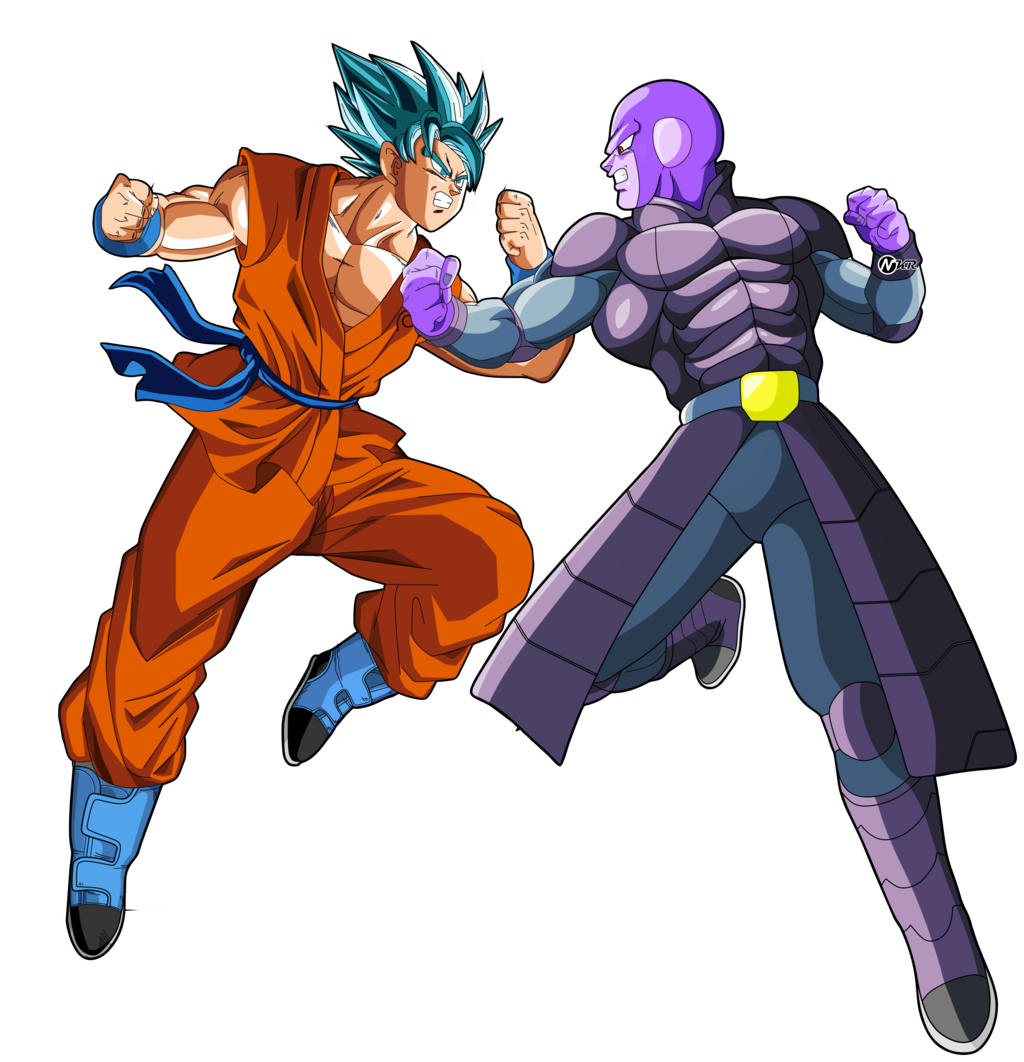 Goku Vs Hit By Naironkr Goku Vs Hit By Naironkr - PNG Hit