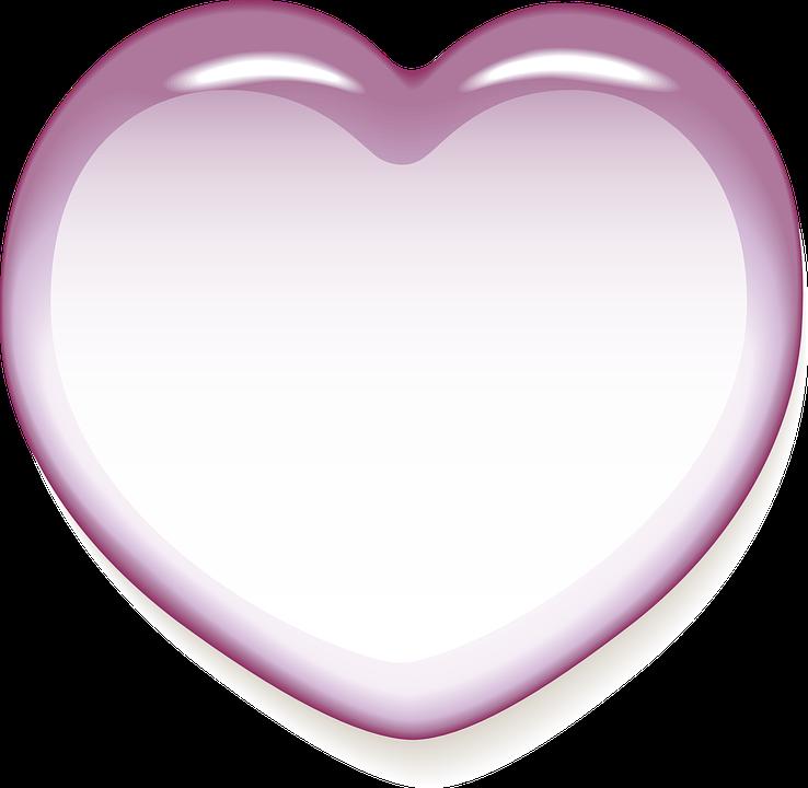 Hjerte, Kære, Lykke, Bryllup, Romantisk, I Kærlighed - PNG Hjerter Bryllup