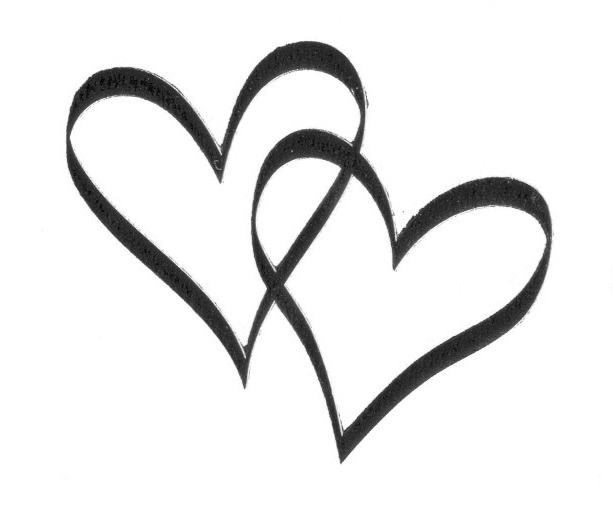 hjerter til bryllup