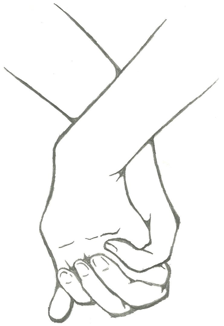 Holding Hands by Raverect PlusPng.com  - PNG Holding Hands