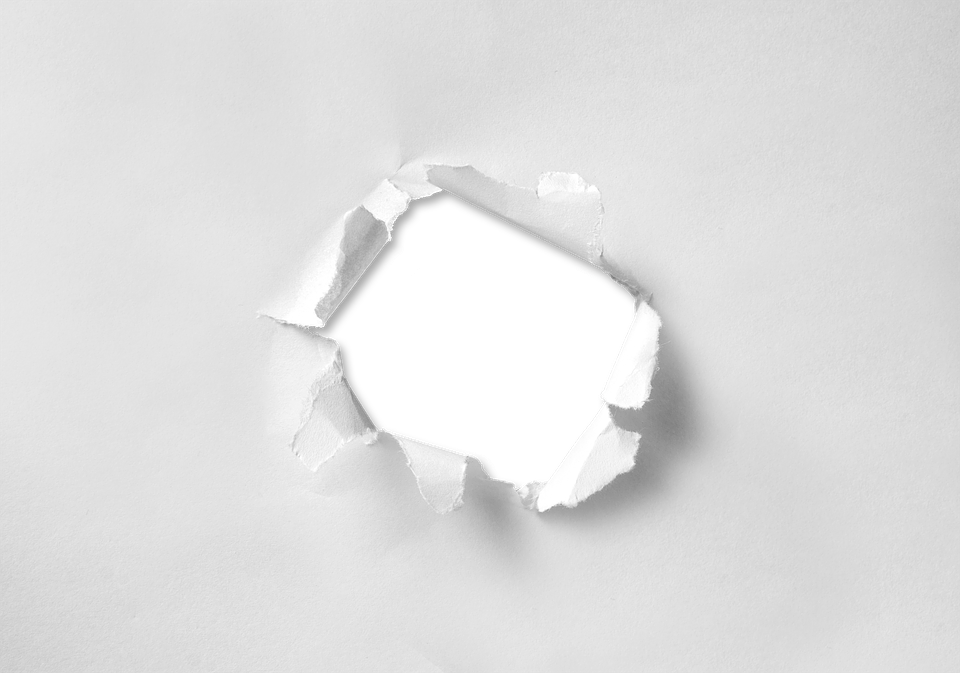 Hole, Torn, Paper, Through, Round, Circle, Broken - PNG Hole