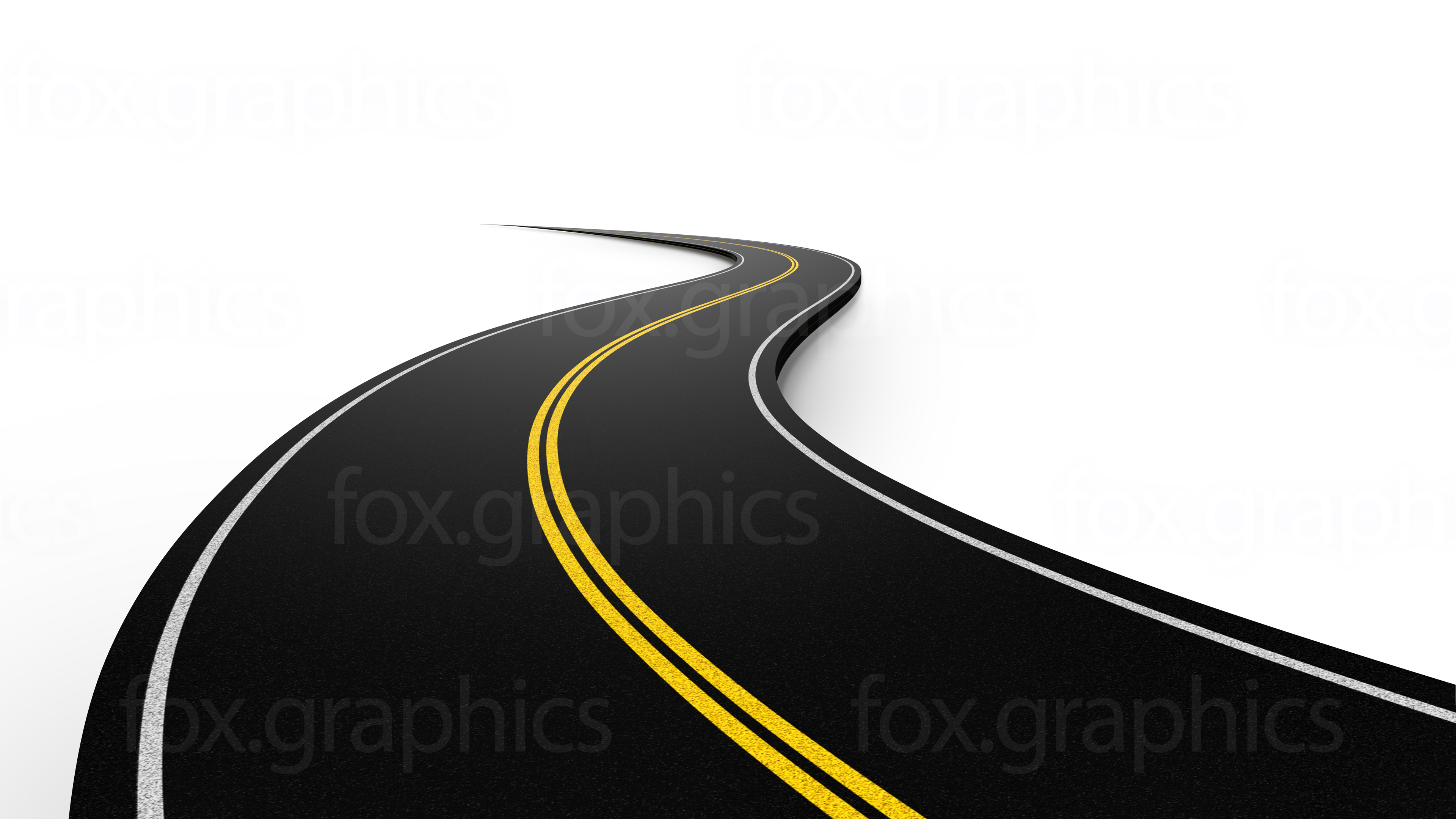 Hd - PNG Horizontal Road