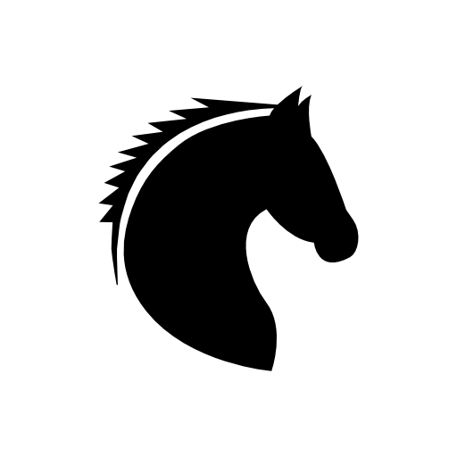 Free Icons Png:Horse Head Icon - PNG Horse Head