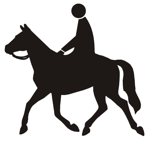 horseback riding -  /signs_symbol/roadside_symbols/roadside_4/horseback_riding.png.html - PNG Horse Riding