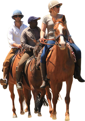 So much fun to ride out from the farm! - PNG Horse Riding