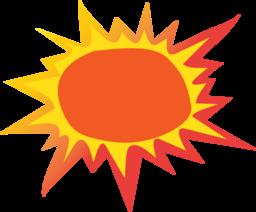 PNG Hot Sun - 47255