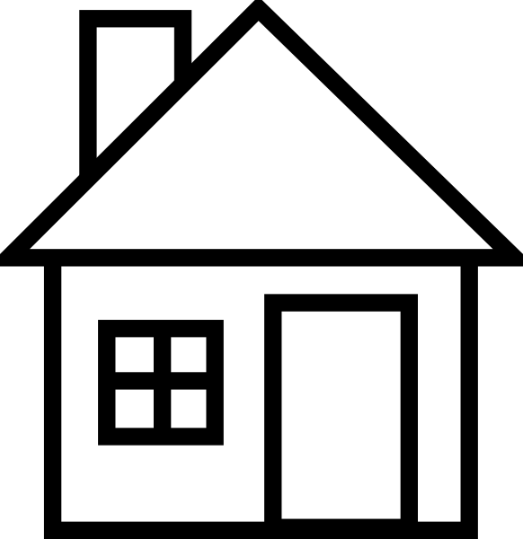 House Clipart Hd Wallpapers 30806 Images | largepict pluspng.com - PNG House Black And White